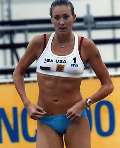 KERRI WALSH USA OLYMPIC VOLLEYBALL 8X10 SPORTS PHOTO (S-2)