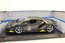 YY Maisto 31386 Lamborghini Centenario LP 770-4  2016 grau NEU in OVP  1:18 YY