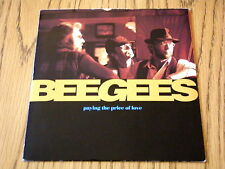 "BEE GEES - PAYING THE PRICE OF LOVE   7"" VINYL PS"