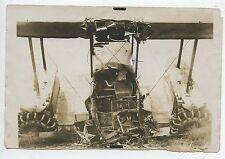 PHOTO AVIATION / AU DOS CHARTRES 1930 / ACCIDENT GOLIATH / Quelques plis