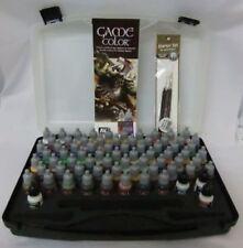 Vallejo BNIB AV Vallejo Game Color Box Set (72 colours/3 brushes/case) VAL72172