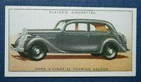FORD V-Eight 22 Touring Saloon Car   Original Vintage Colour Card