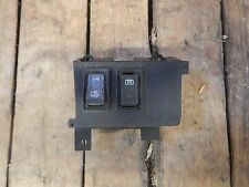Jeep Wrangler YJ 92-95  Rear Wiper and Defrost Dash Switch Bezel  FREE SHIPPING