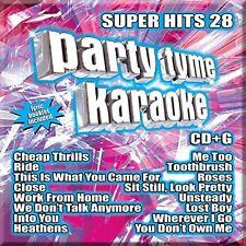 Various Artists - Party Tyme Karaoke: Super Hits, Vol. 28 [New CD]