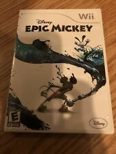 Epic Mickey Nintendo Wii Cib XP3