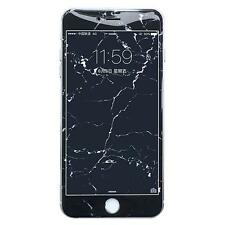 New For iPhone 7 7plus 6 6s Granite Marble Grain Tempered Glass Screen Protector