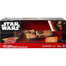 Star Wars Remote Control Land Speeder X-34 Luke Skywalker Air Hogs Full Function
