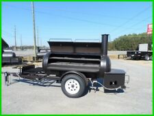 250BQ PIT SMOKER competition trailer double racks concession cooker Bubba Grill