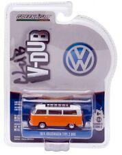 Greenlight 1/64 Club V-DUB 1974 Volkswagen Type 2 Bus Diecast Orange (29820E)