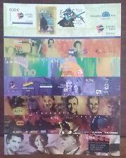 SELLOS ESPAÑA MNH 2002 PLIEGO 9 SELLOS EXPO JUVENIL SALAMANCA