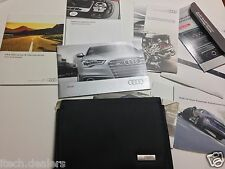 2013 Audi Owner Booklets & Case
