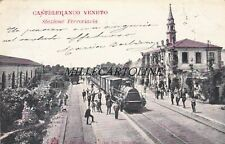 CASTELFRANCO VENETO:  Stazione Ferroviaria  190-