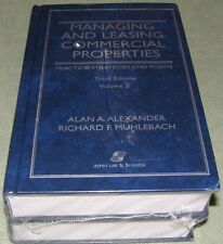 Management Leasing Commercial Properties Practice Strategy Form Law Business NEW