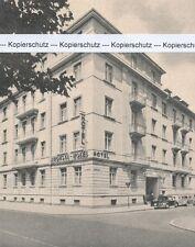 Mannheim - Hotel Augusta - um 1950 oder früher (?)