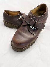 DOC MARTEN 8314 brown leather strapmonkstrapshoes46 12