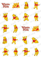 20 NAIL DECALS * WINNIE THE POOH * POOH BEAR THEMED WATER SLIDE NAIL DECALS