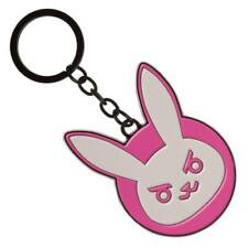 OFFICIAL OVERWATCH - D.VA BUNNY LOGO METAL KEYRING (NEW)