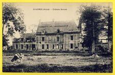 cpa RARE France 02 - CHARMES Ecrite en 1922 (Aisne) CHÂTEAU BONNAL