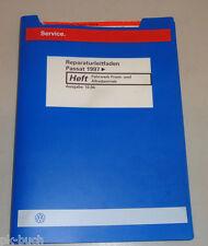 Werkstatthandbuch VW Passat Fahrwerk Frontantrieb + Allrad Syncro Stand 10/1996