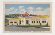 Knoxville,Tennessee,Shelton's Restaurant,Linen Roadside,Knox County,Used,1950