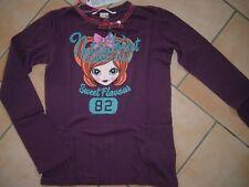(99) Nolita Pocket Girls Shirt Mädchen Druck Logo Stickerei Samt Schleife gr.98