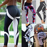 Women High Waist Yoga Workout Gym Sport Pants Leggings Fitness Stretchy Trousers