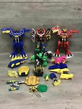 Power Rangers Samurai Dino Charge Megazord Lot