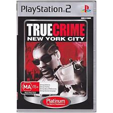 PLAYSTATION 2 TRUE CRIME NEW YORK CITY PAL PS2 PLATINUM [UVG] YOUR GAMES PAL
