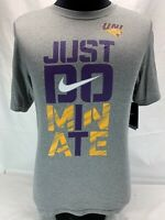 Nike UNI University Of Northern Iowa Just Dominate Tee Men's Small New With Tags