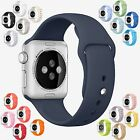 Sport Silicon Wrist Replacement Band Bracelet Strap Apple Watch 1 or 2 38mm 42mm
