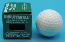 Unputtaball Unputtable Wiggling Golf Ball Novelty Gag Gift Trick