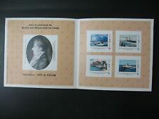 Collector 4 timbres Mon timbre à moi  Escale à Calais Fête Maritime CAP & FRCPM
