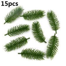 15pcs Artificial Plants Pine Branches Christmas tree Wedding Decorations New