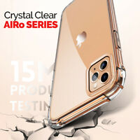 CLEAR Case For iPhone 11 Pro Max XR X XS Max 7 8 Plus Cover Shockproof Silicone