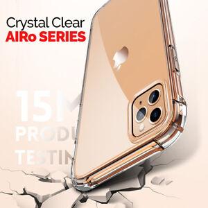 Klar Hülle Für IPHONE 11 Pro Max Cover Stoßfest Silikon Gel Ultradünn Luxus