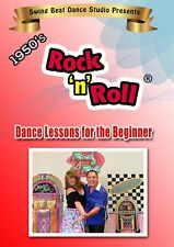 Rock'n'Roll 1950's Style-Learn to Dance Beginners DVD *NEW* 2018 Release