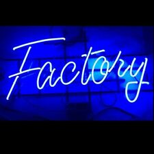 Factory Retro Wall Hanging Real Glass Tube Visual Artwork Neon Sign Light