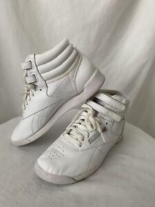 Reebok Classic Freestyle Hi High Top Sneakers Women's Size 6