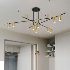 Large Chandelier Lighting Black Pendant Light Kitchen Ceiling Lights Office Lamp