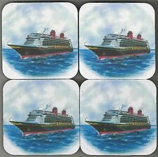 ms DISNEY DREAM... cruise ship..Drink Coasters....Original Art Work