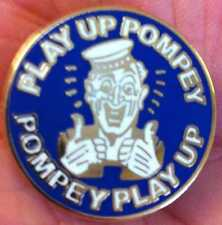 PORTSMOUTH PLAY UP POMPEY SAILOR ENAMEL PIN