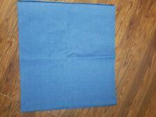 """Vintage Blue Cotton Denim medium wash Fabric 45"""" W x 2 5/6 yard L 1 piece New"""