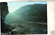 07 - cpsm - Lever de soleil dans les gorges de l'Ardèche  ( i 5624)