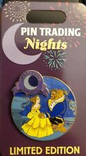 """New ListingDisney Beauty and the Beast """"Belle and Beast"""" Pin Trading Night Le 1000 Pin"""