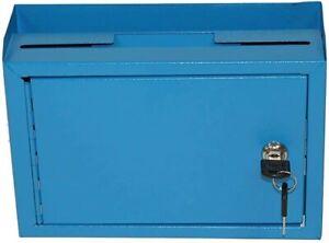 Adir Corp. Multi Purpose Medium Size Suggestion Box (Blue)