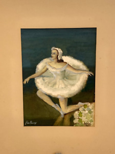 Listed American Artist Frederick Doyle Penney (1900-1988) Watercolor Painting