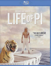 Life of PI NEW Bluray disk/case/cover only-no digital 2013 Sharma Khan Tabu