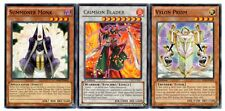 Yugioh - Crimson Blader + Summoner Monk + Vylon Prism - NM/LP