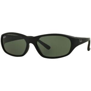 Ray-Ban Daddy-O II Green Lenses Matte Black Sunglasses RB2016 W2578-59