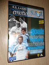 OFFICIAL DVD S.S. LAZIO ONE CENTURY OF EMOTIONS UFFICIALE ITALIANO ENGLISH